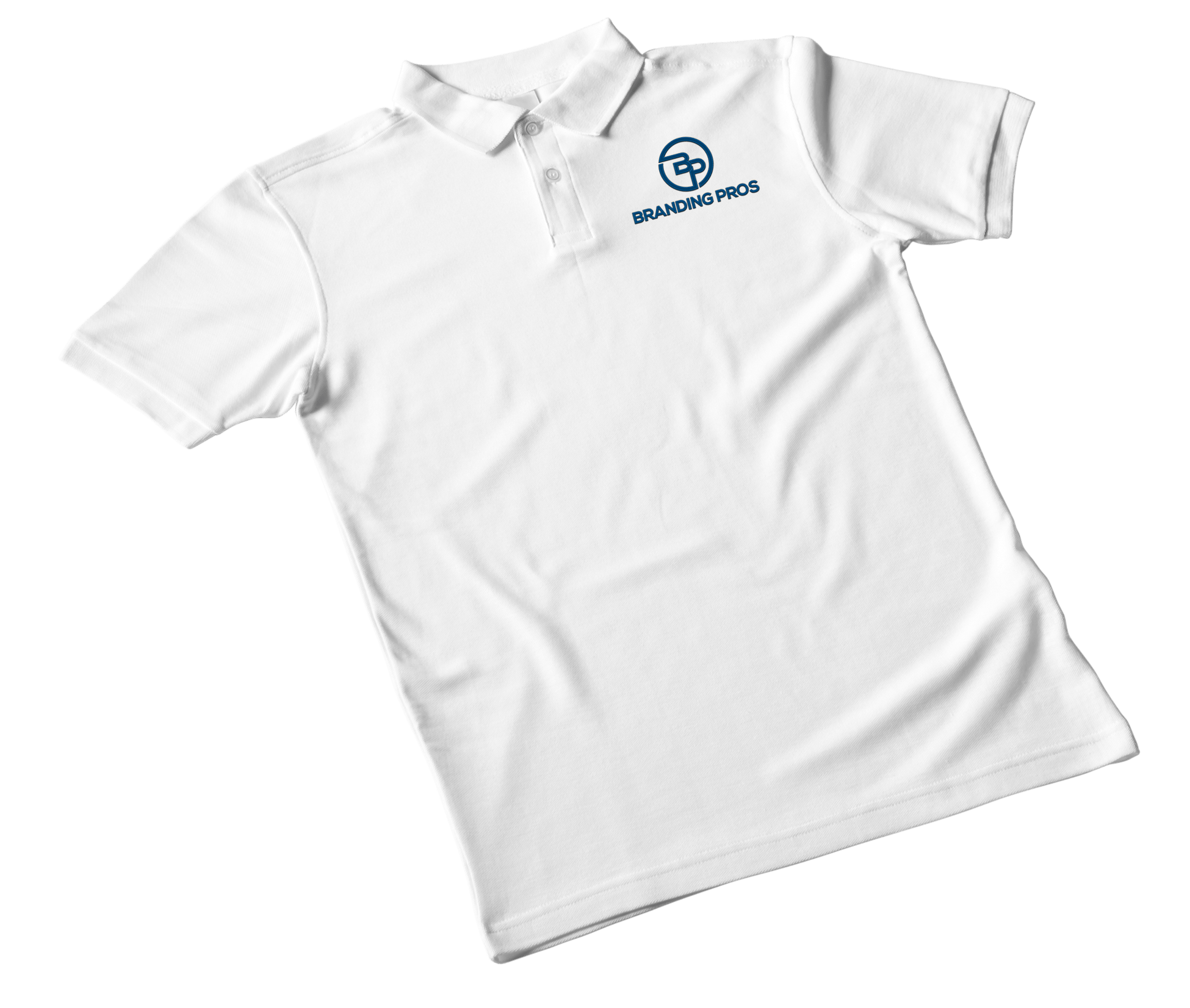 white polo with logo - Corporate Apparel