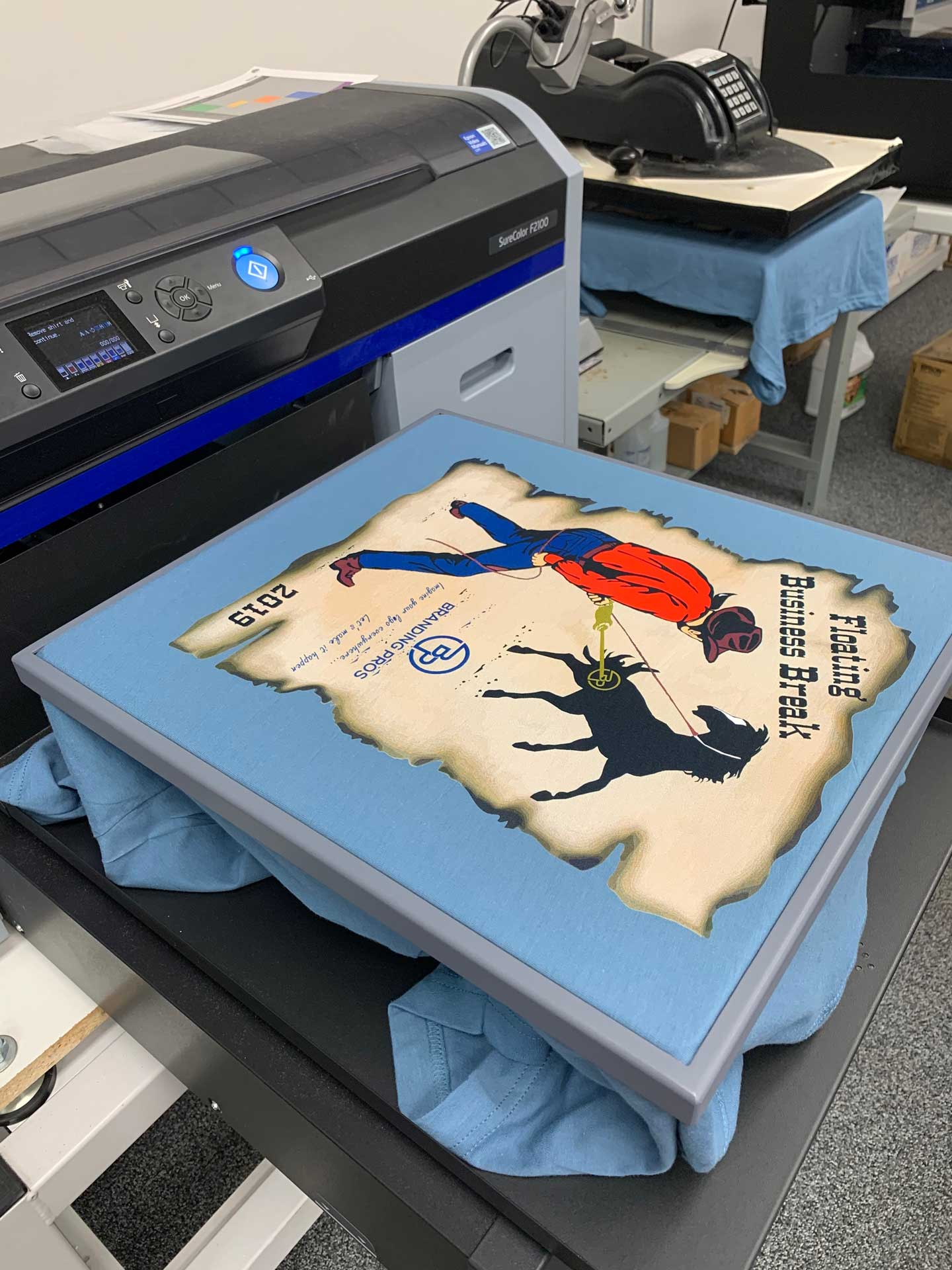 direct to garment printing - Direct to Garment Printing